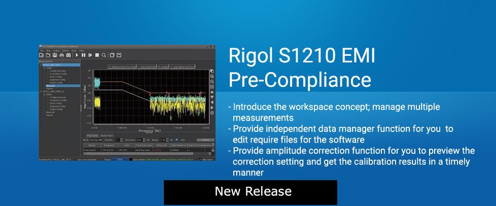 Rigol S1210 EMI Pre-Compliance