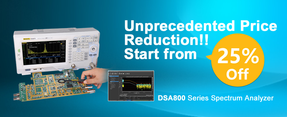 DSA800 Promotion