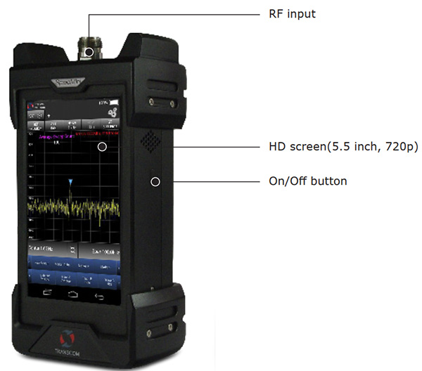Specmini-Handheld-Spectrum-Analyzer-Control-Elements